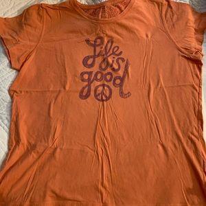 Life is good tee shirt